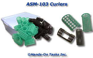 Hair Curler Assembly Activity