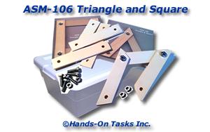 Triangle and Square Assembly Activity