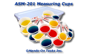 Measuring Cups Assembly Activity