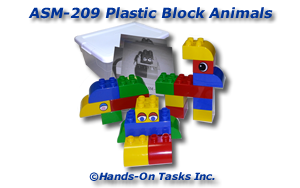 Lego® Block Assembly Activity