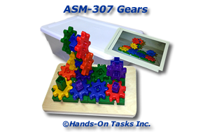 Plastic Gears Assembly Activity