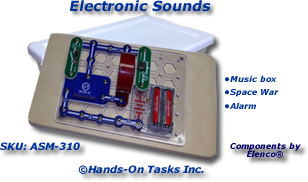 Electronic Sounds Snap Circuit® Assembly Activity