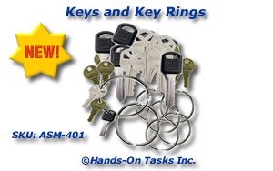 Key Ring Assembly Activity