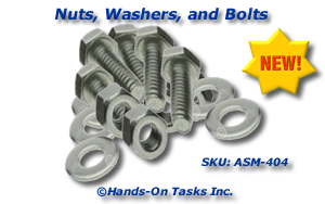 Nut and Bolt Fine Motor Activity
