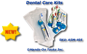 Dental Care Kit Packaging Activity