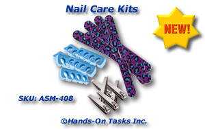 Personal Nail Care Kit Packaging Activity