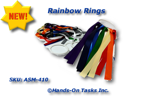 Rainbow Rings Assembly Activity