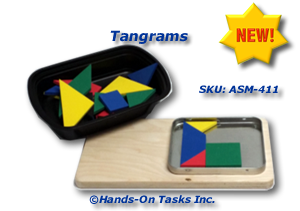 Build Tangrams Activity