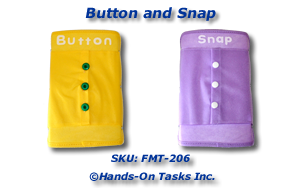 Button and Snap Fine Motor Activity