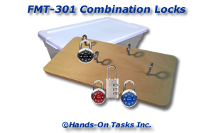 Combination Locks Fine Motor Activity