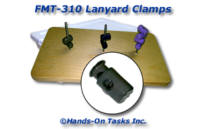 Lanyard Clamp Fine Motor Activity