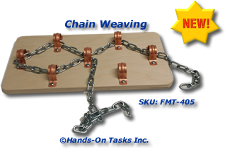 Small Metal Chain Fine Motor Activity