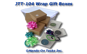Wrapping Gift Boxes Job Training Activity