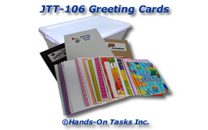 Greeting Cards Job Training Activity
