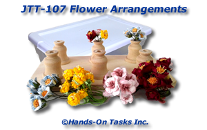 Flower Arrangements Job Training Activity