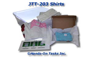 Fold Shirts Job Training Activity