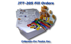 Fill Orders Job Training Activity
