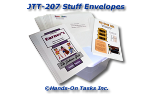 Stuffing Envelopes Job Training Activity