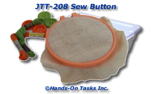 Sew Button Job Training Activity