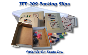 Packing Slips Job Training Activity