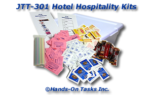 Assemble Hotel Hospitality Kits Job Training Activity