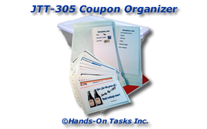 Assemble a Coupon Organizer Job Training Activity