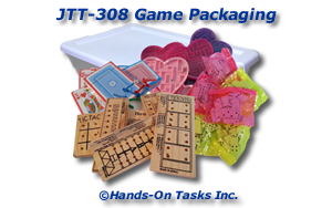 Game Packaging Job Training Activity