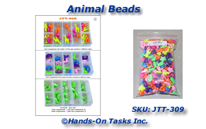 Assemble Animal Bead Assortments Job Training Activity