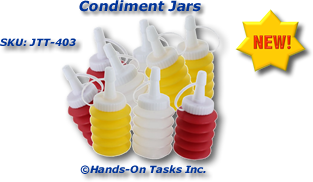 Small Condiment Jars Packaging Activity