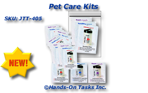 Packaging Pet Care Items Training Activity