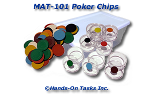 Poker Chip Matching Activity