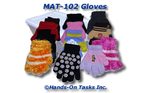 Glove Matching Activity