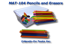 Pencil and Eraser Matching Activity