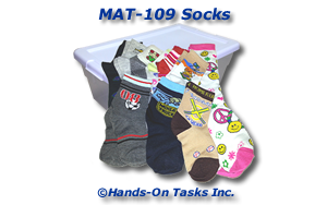 Socks Matching Activity