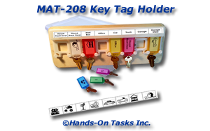 Key Tag Matching Activity