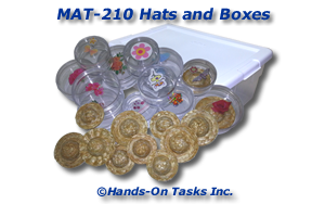 Hats and Boxes Matching Activity