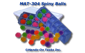 Porcupine Ball Matching Activity