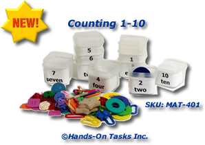One to Ten Counting Activity