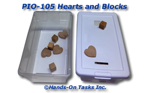 Hearts and Blocks Put-In Activity
