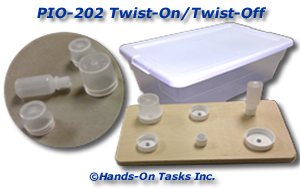 Twist-On/Twist-Off Lids Activity