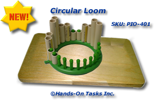 Plastic Pipe Stacking Activity