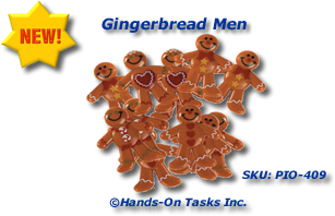 Gingerbread Men Sorting Activity