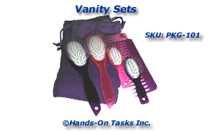 Vanity Set Packaging Activity