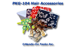 Hair Accessories Packaging Activity