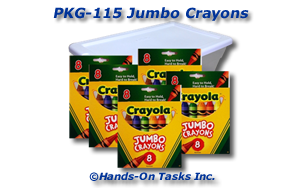 Jumbo Crayon Packaging Activity