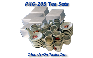 Tea Sets Packaging Activity