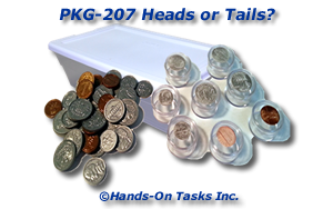 Packaging Coins by Heads or Tails