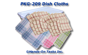 Dish Cloth Packaging Activity