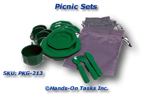 Picnic Sets Packaging Activity