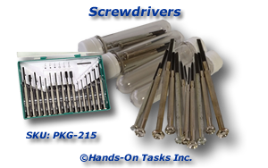 Precision Screwdriver Packaging Activity